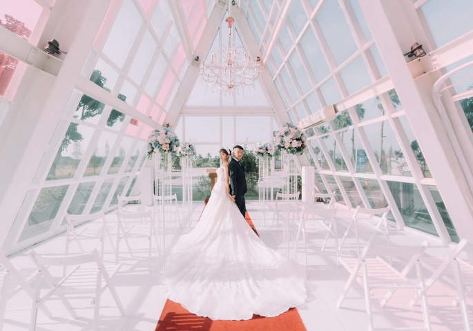 奢華婚宴 · 戶外證婚