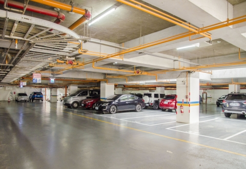 地下停車場