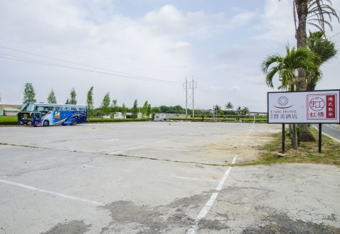 戶外大型停車場